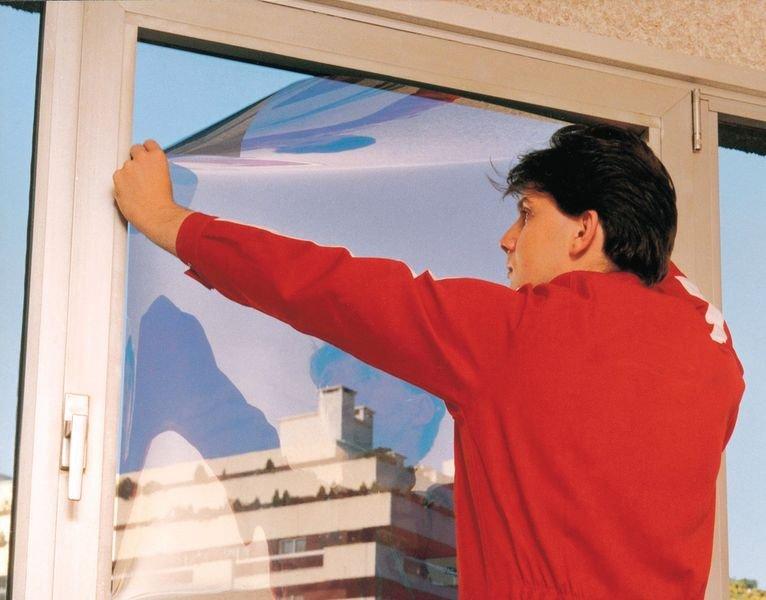 Kit voor het plaatsen van zelfklevende raamfolie - Seton