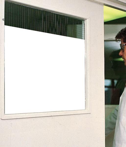 Witte, zelfklevende en verduisterende raamfolie