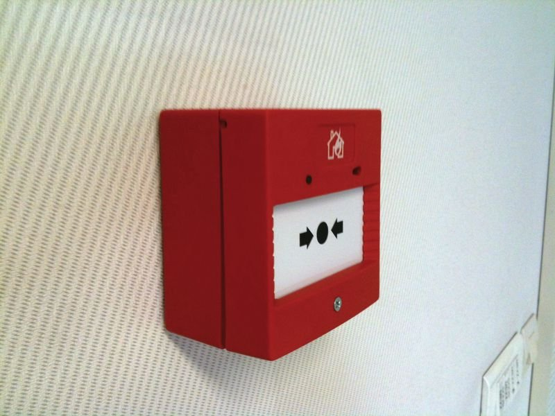 Brandalarm voor evacuatieoefening - Pedagogisch materiaal voor brandoefeningen