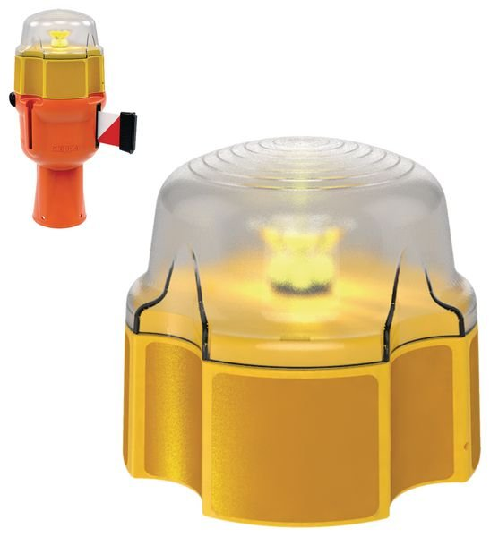 Dagslaper met ledlamp voor Skipper™ afzetlinthouder - Seton