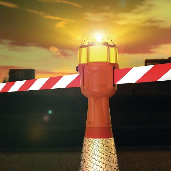 Dagslaper met ledlamp voor Skipper™ afzetlinthouder