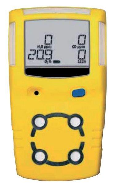Multigasdetector voor H2S, CO, O2 en brandbare gassen