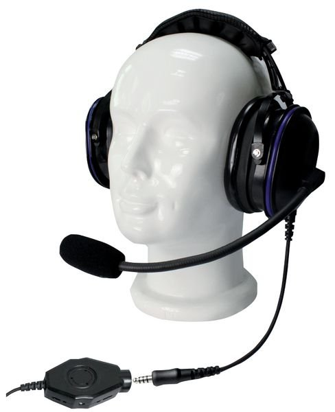 Headset met noise-cancelling