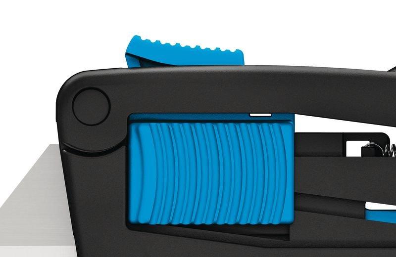 Stevig veiligheidsmes met driedubbele schuifknop en vervangbaar lemmet Martor® Secupro Maxisafe - Accessoires voor goederenbehandeling