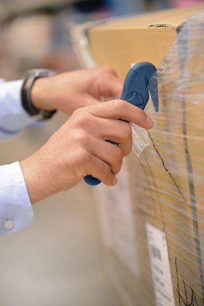 Detecteerbaar foliemes met vervangbaar lemmet Martor® Secumax Combi MDP