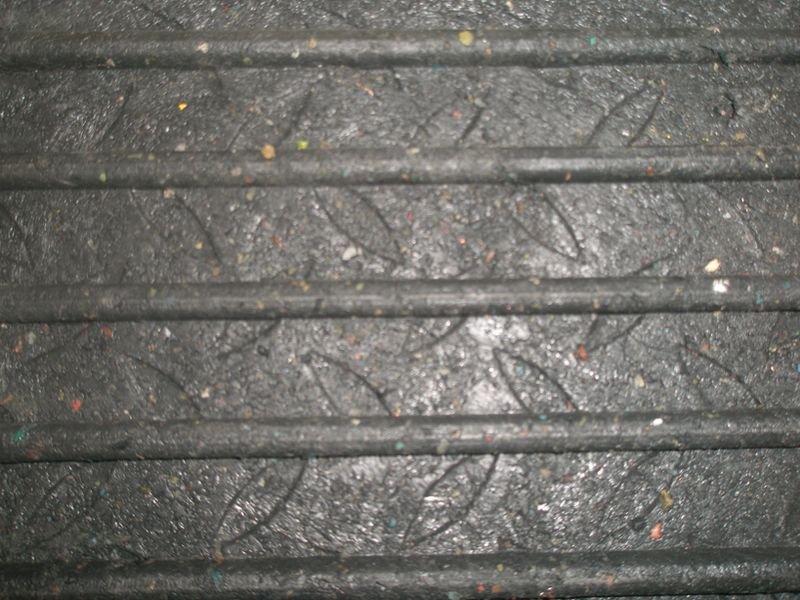 Onbreekbare oprijplaat voor rolstoel, van rubber - Seton