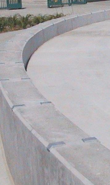 Antiskateboardplaatjes van aluminium - Seton