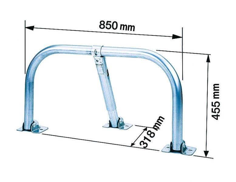 Voordelige en compacte parkeerbeugel - Parkeerbeugels