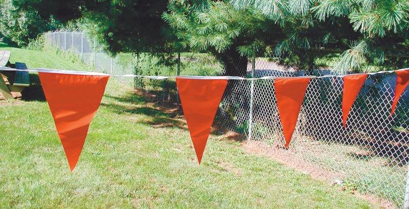 Rode vlaggenlijn voor gevaarssignalering - Seton