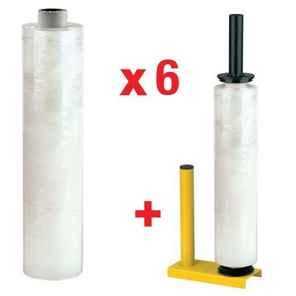 Verpakkingskit: afroller + 12 rollen rekfolie