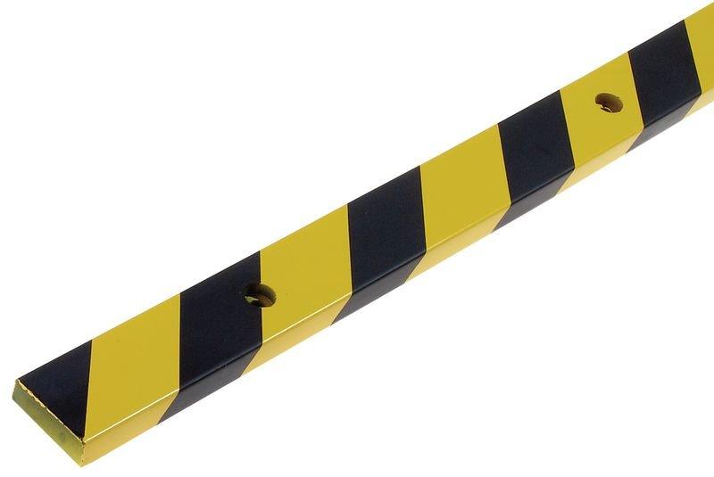 Platte stootrand Optichoc, gearceerd - oppervlak van 60 mm