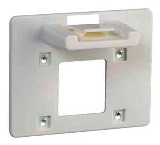 Lege, witte EHBO-wandkoffer van polypropyleen - Seton