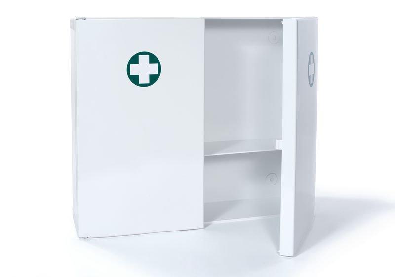 Tweedeurs medicijnkastje van plastic - Seton