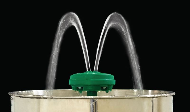 Oogdouche met laminaire stroming voor wandmontage - Seton