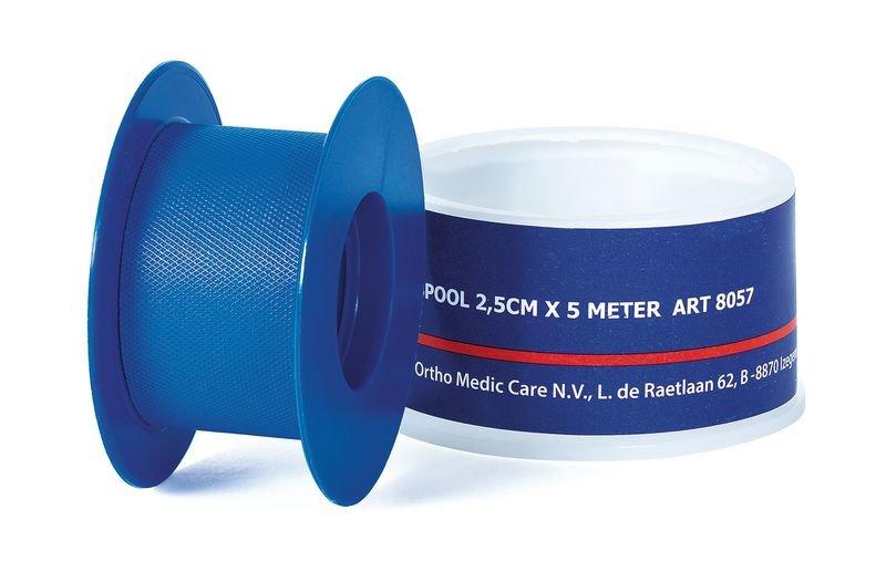 Blauwe hechtpleisters van plastic op rol - EHBO-producten