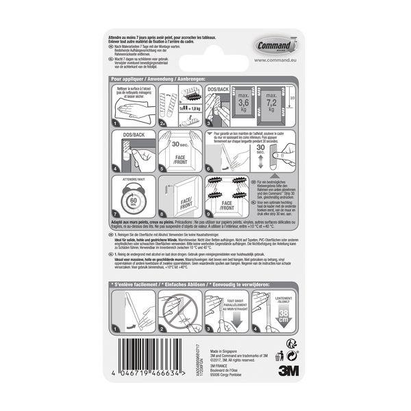 Herpositioneerbare kleefstrips 3M™ Command™ - Dubbelzijdige tape