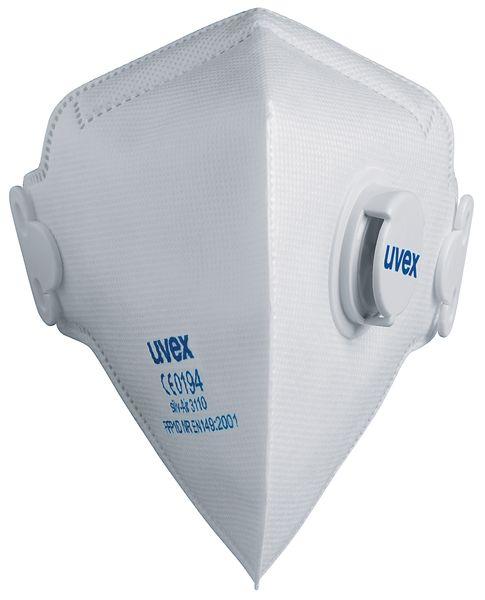FFP1-stofmasker Uvex® silv-Air C, vouwbaar