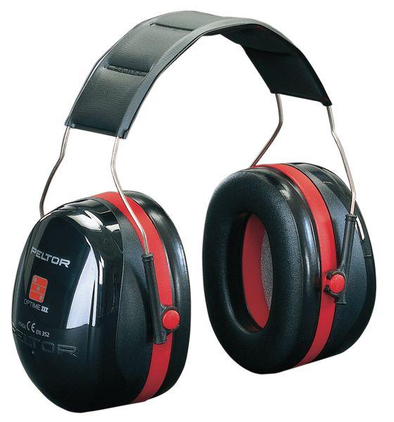 Oorkappen met SNR 35 dB 3M™ Peltor™ Optime III®, standaard of met nekbeugel