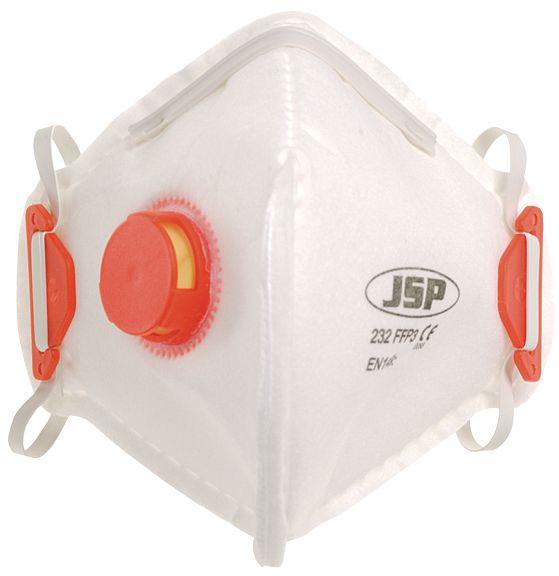 FFP3-stofmasker JSP® Olympus® Foldflat, verticale vouw