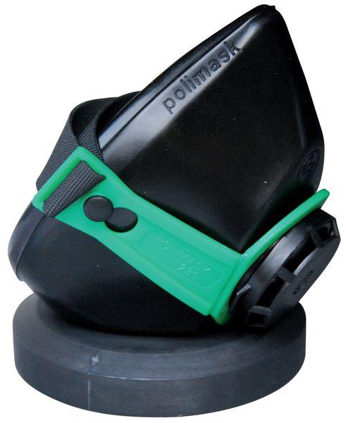 Halfgelaatsmasker met klassieke, enkele filter