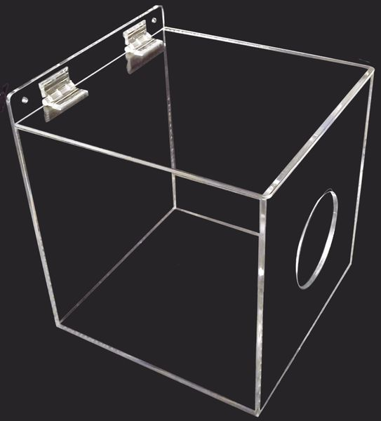 Transparante dispenser voor werkkleding en andere PBM