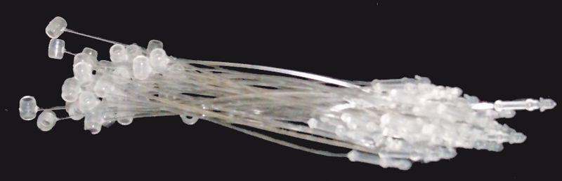 Nylon snap lock pins voor hanglabels