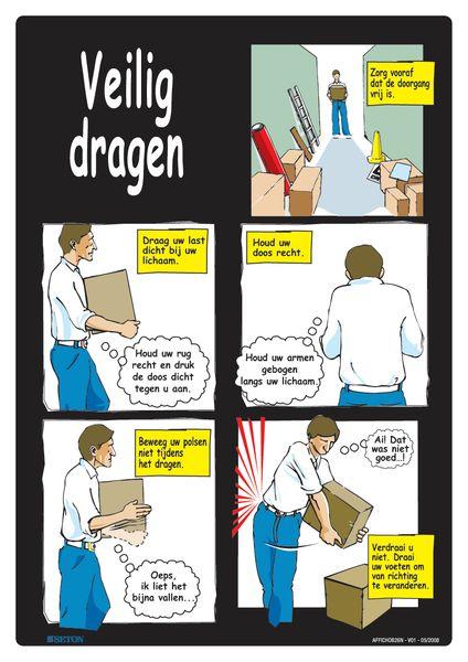 Veiligheidsposters - Veilig dragen