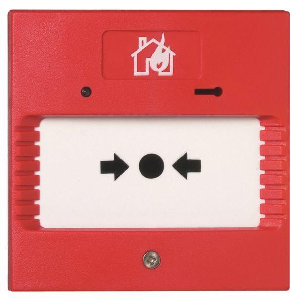 Brandalarm voor evacuatieoefening