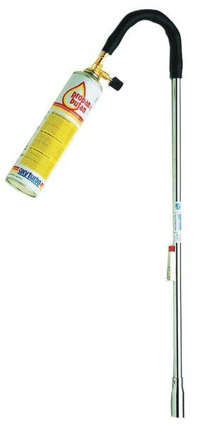 Gasaansteker voor oefenmateriaal