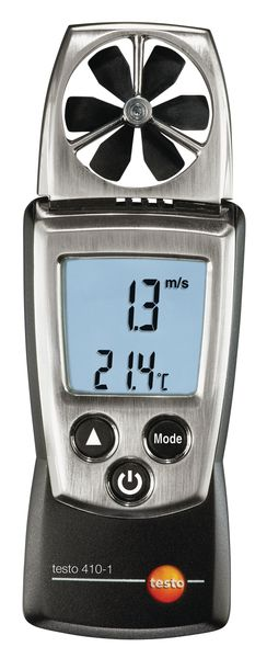 Anemometer en thermometer