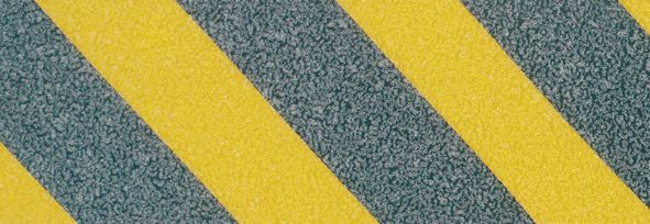 Gekleurde, antislip traptreden van aluminium