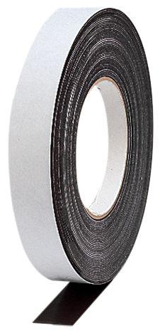 Zwarte magneettape op rol