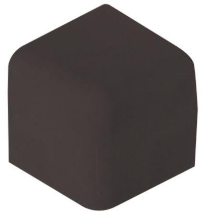 Versnijdbare stootrand voor hoek of hoekbeschermer, grijs of zwart