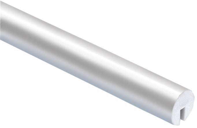 Eenkleurig, afgerond u-profiel uit schuim Optichoc, voor randen van 8 mm