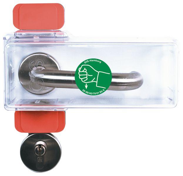 Transparante beschermkap voor handvaten en sloten