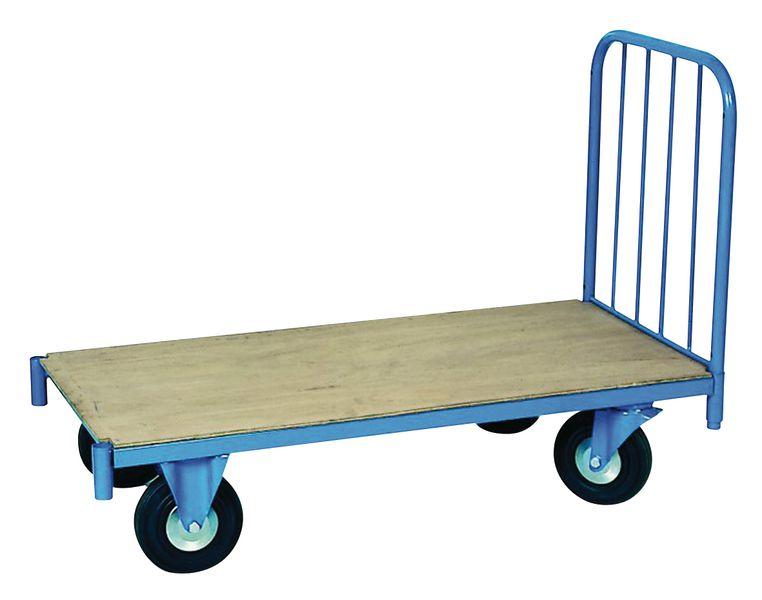 Magazijnwagen met buisstructuur of plaat