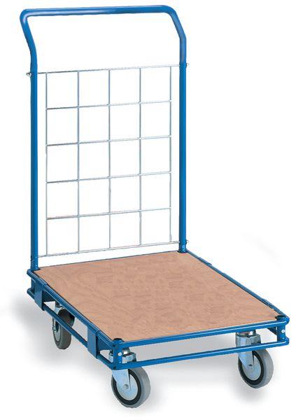 Transportwagen met gaaswand voor magazijn