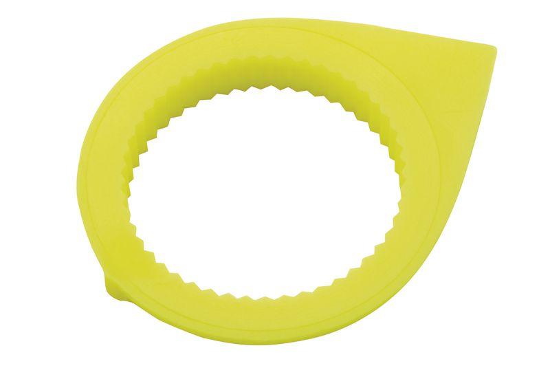 Torsie-indicator van fluo plastic voor loskomende moeren, model met kleine pijl