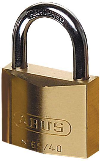 ABUS hangslot met 2 identieke of verschillende sleutels