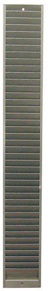 Metalen opbergkast voor ISO-badges