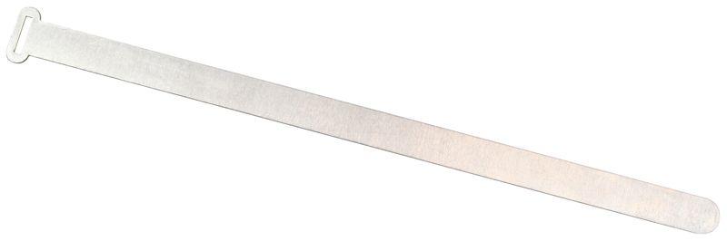 Aluminium kabelbinders met beschrijfbaar label
