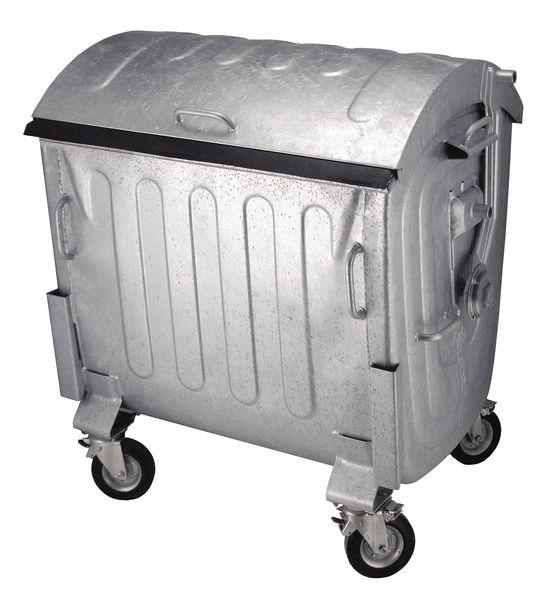 Container van 1100 liter op wieltjes