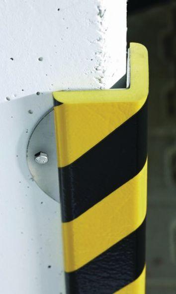 Stootrand voor hoek van gewapend schuim Optichoc, hoek van 46 mm
