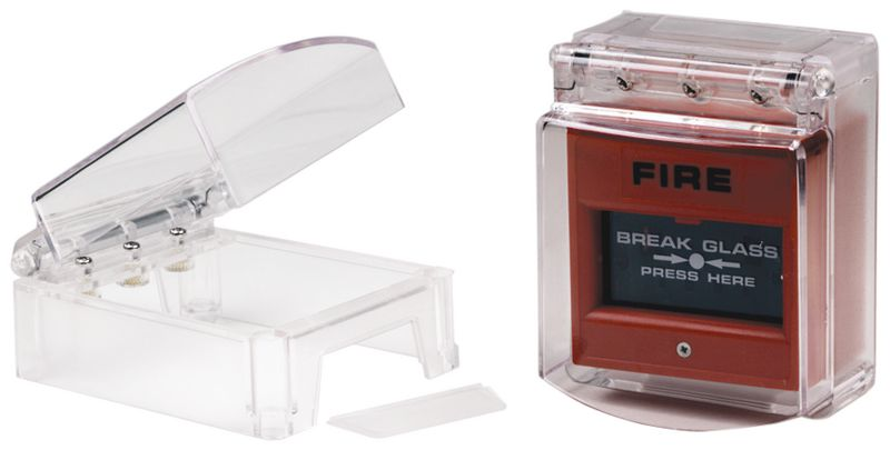 Beschermkap van polycarbonaat voor brandmelder