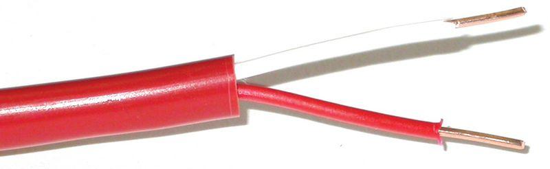 Brandwerende kabels voor het aansluiten van brandmelders