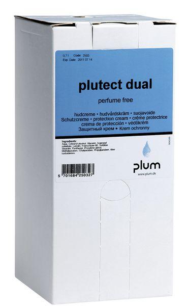 Navulling huidcrème en handzeep voor dispenser Plum