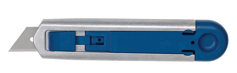 Detecteerbaar aluminium veiligheidsmes met vervangbaar mesje