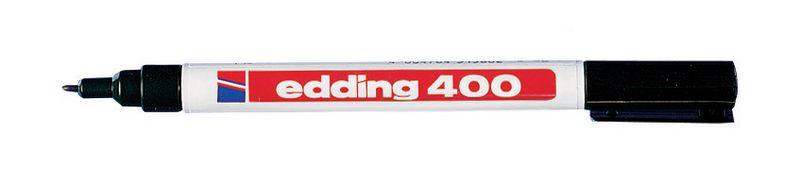 Permanent marker Edding 400 met ronde punt - 1 mm