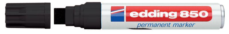 Permanent marker Edding 800/850 met platte punt - 4 of 5 mm
