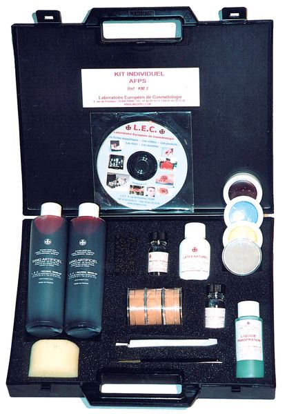 Make-up koffer voor nabootsen verwondingen